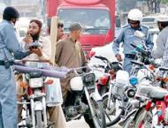 5020 vehicles challaned for wrong parking