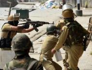 Indian troops martyr 2 youth in IIOJK