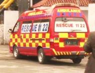 Two killed, one injured in road accident