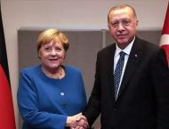Erdogan, Merkel Discuss Situation in Eastern Mediterranean - Turk ..