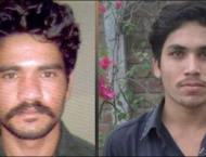Motorway gang-rape victim identifies both suspects