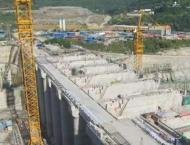 Opening of Karot Hydropower Station spillway road bridge a milest ..