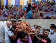 Tributes paid to martyred youth in IIOJK