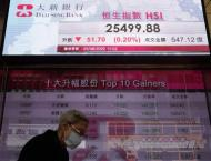 Hong Kong stocks end sharply lower