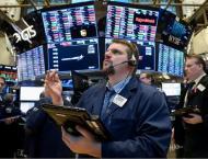 US stocks flat ahead of Powell testimony