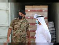 Emirati aid ship arrives in Beirut
