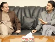 Governor Gilgit-Baltistan calls on Murad Saeed