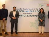 PTCL in collaboration with Huawei deploys first XGS-PON and Quick ..