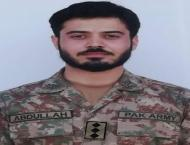 Martyred captain Abdullah laid to rest