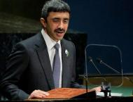 UAE Foreign Minister Announces Bid for Non-Permanent UN Security  ..