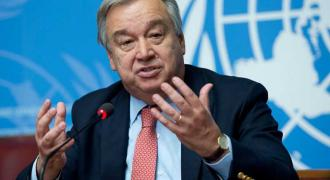 Bolster fragile world to emerge stronger, UN chief urges, marking Peace Day