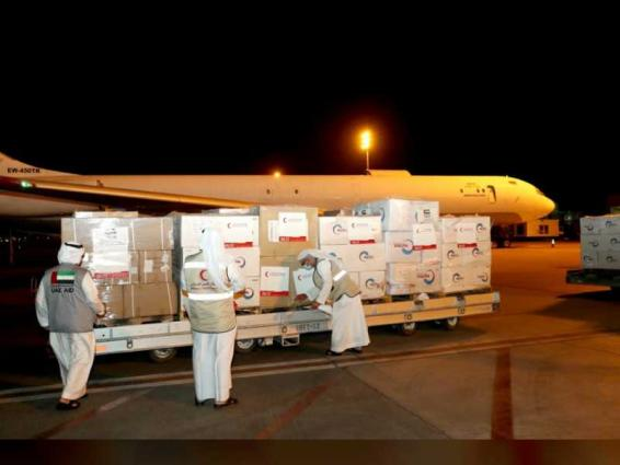 UAE flies second batch of medical aid to Syria in fight against COVID-19