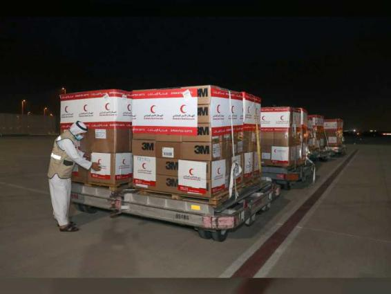 UAE flies third batch of medical aid to Syria in fight against COVID-19