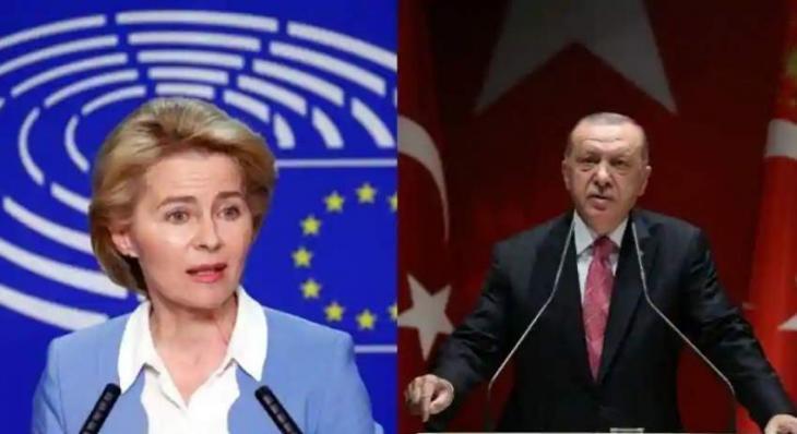 EU chief warns Turkey not to 'intimidate' neighbours