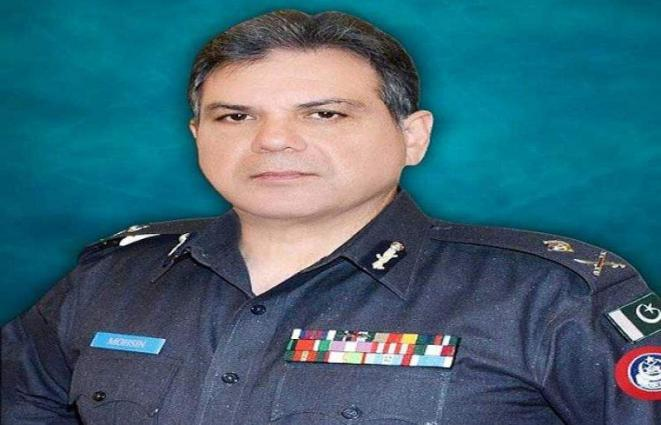 Police playing key role for maintaining durable peace : IGP Mohsin