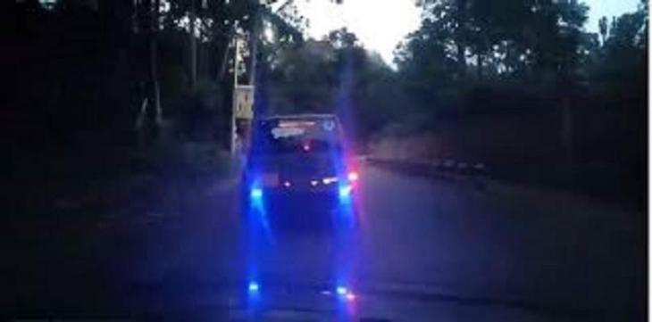 Police to take stern action against motorists using LEDs, high beam lights