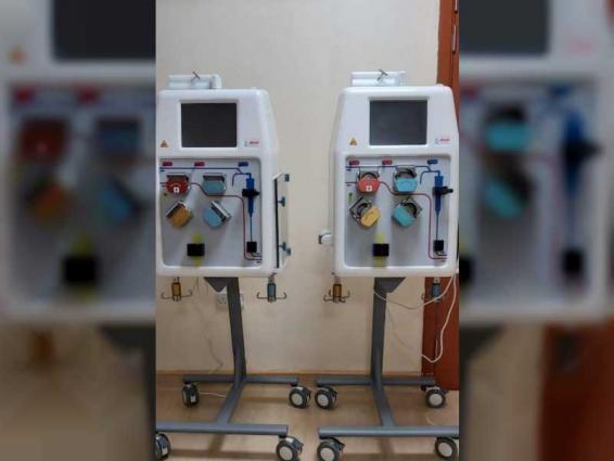 """""""وزارة الصحة"""" تزود مستشفى الكويت بالشارقة بأحدث الأجهزة والمعدات الطبية"""
