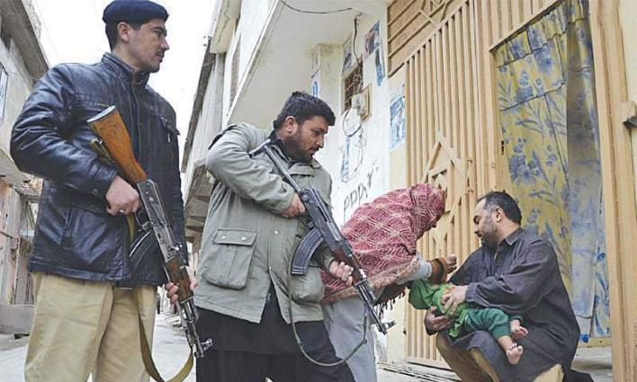 Over 1000 police officers, personnel to provide security to polio workers