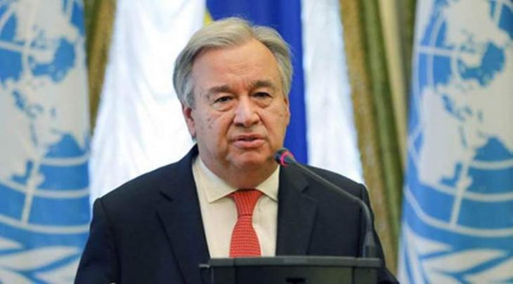UN Chief Says Will Call for 'Global Ceasefire' by Year End in Speech to General Assembly