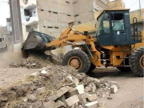 Chief Commissioner reviews ongoing anti-encroachment drive