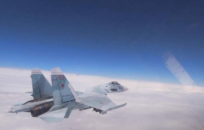 Russia's Su-27 Scrambled to Escort US Patrol Aircraft Over Black Sea - Defense Ministry