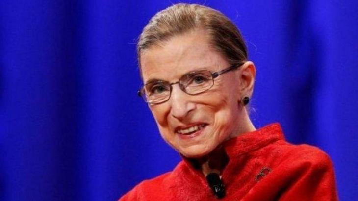 US Supreme Court Justice Ruth Bader Ginsburg in dates