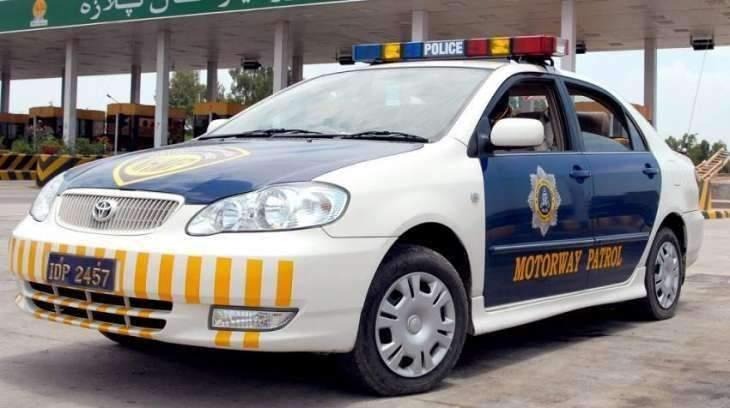 Motorway police thwart car theft, arrest accused