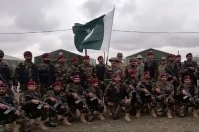Pakistan Armed Forces participates multinational military exercise Kavkaz 2020