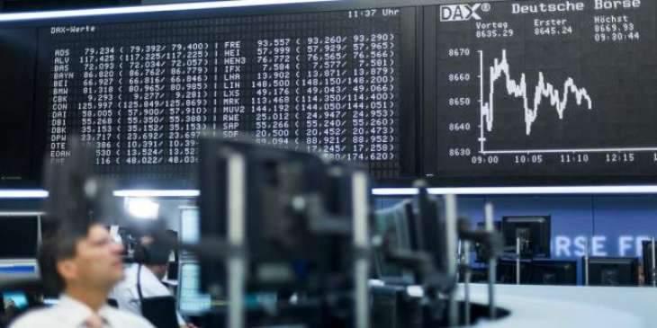 German shares lose 0.90 pct at start of trading