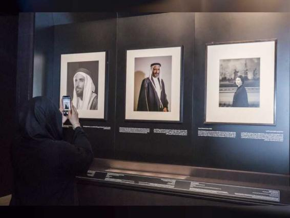Latifa bint Mohammed visits 'Photographs in Dialogue' exhibition at Etihad Museum