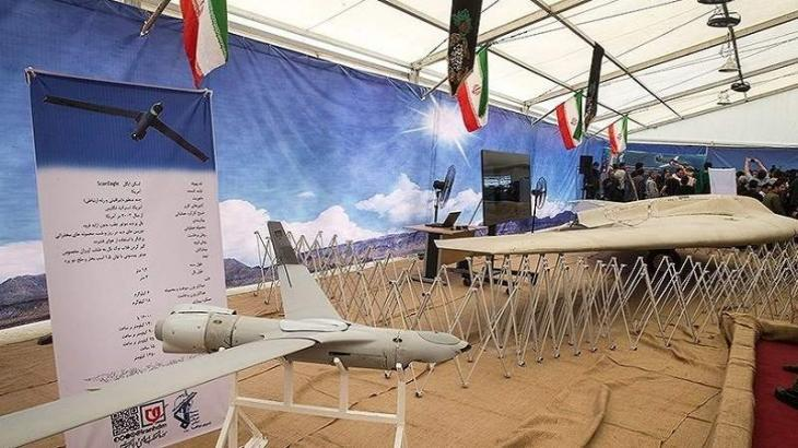 Iran's IRGC navy receives 188 drones, helicopters