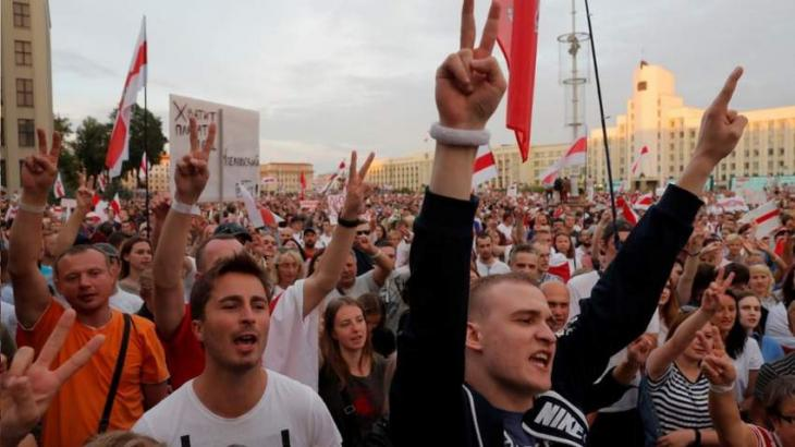 Belarus' Opposition Council Calls for Indefinite Protests After Lukashenko's Inauguration