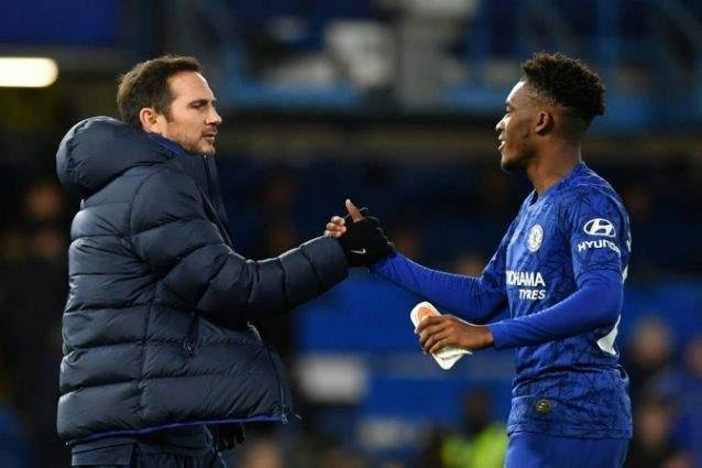 Lampard urges Hudson-Odoi to seize his chance at Chelsea