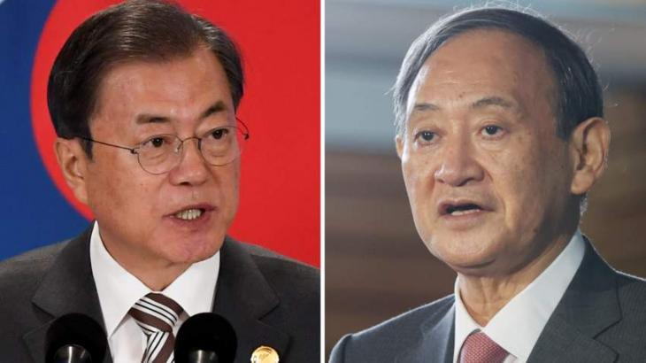New Japan premier, S.Korea leader seek to mend ties