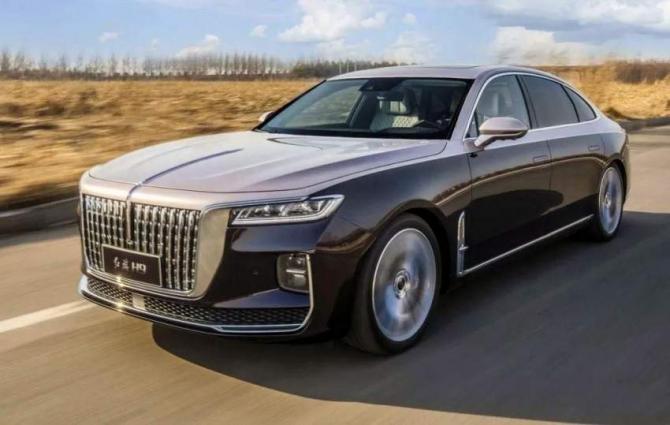 Chinese sedan brand Hongqi sales up 108 pct
