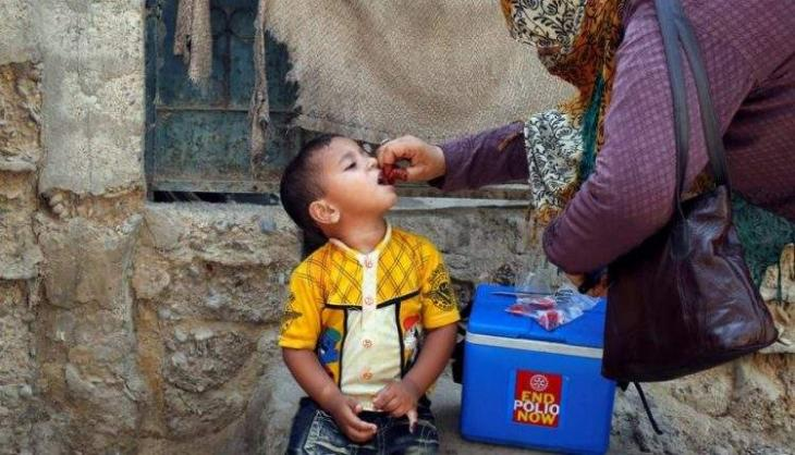 Polio teams administer drops to 175,249 children