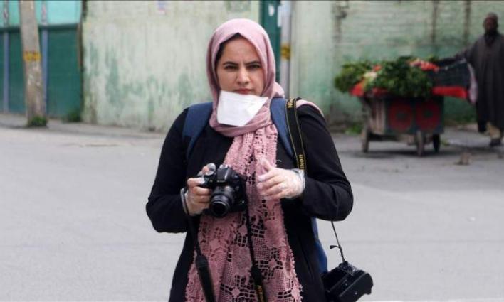 Kashmiri photojournalist Masrat Zahra wins Mackler prize