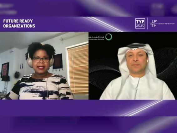 """كهرباء ومياه دبي تشارك في قمة """"استشراف السنوات العشر القادمة"""""""