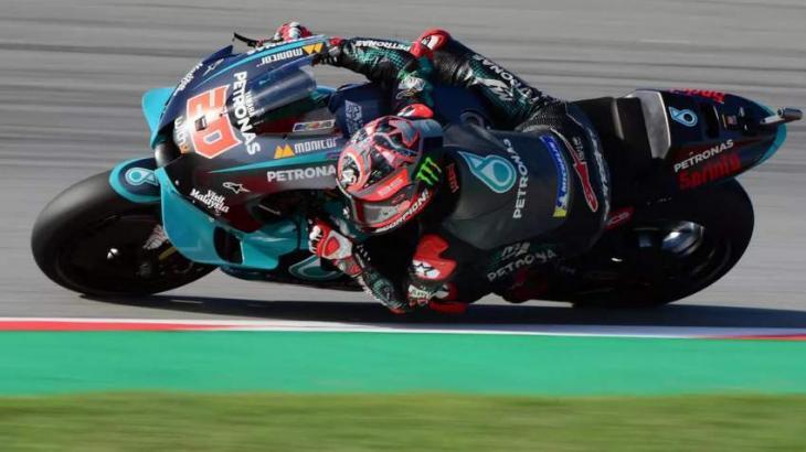 Quartararo fastest in Catalonia MotoGP practice