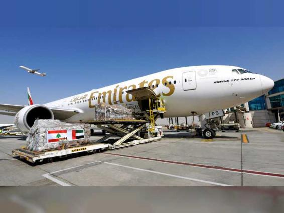 Emirates SkyCargo continues Beirut relief efforts, transporting more than 160,000 kgs of vital aid and supplies