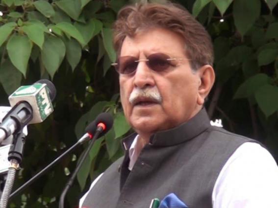 AJK Prime Minister visits Quaid-e-Azam Residency in Ziarat