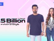 vivo Pakistan Sets a New Record with 2.5 Billion views for #vivoY ..