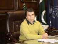 Commissioner Hazara reviews construction work of Dasu dam