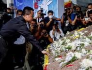 Thai protest leaders, massacre survivors mark sombre anniversary ..