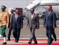 Eritrean leader arrives in Ethiopia to boost ties