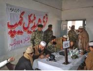 Army arranges medical camp in South Waziristan