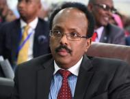 Somalian President Urges US to Keep Troops Presence in Country