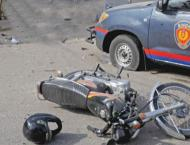 Motorcyclist hit to death in sialkot