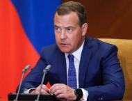 Russia's Medvedev Chairs 1st Meeting of Security Council Body on  ..