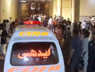 Two dead, 12 injured in road accident